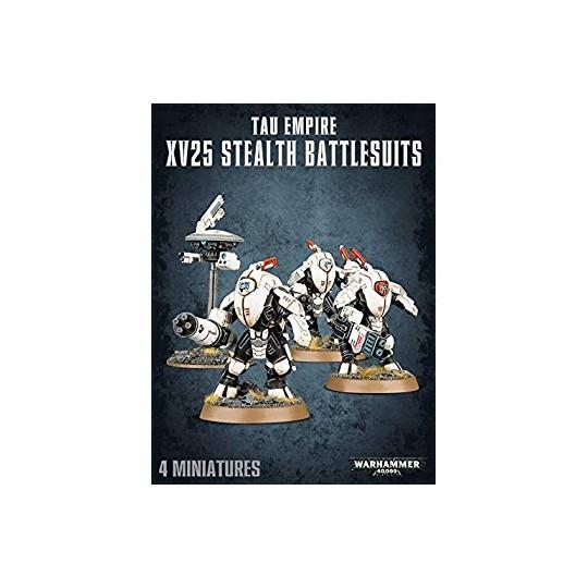 Warhammer XV25 Stealth Battlesuits
