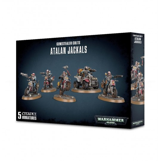Warhammer Genestealer Cults Atalan Jackals