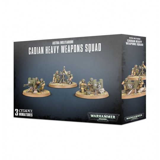 Warhammer Cadian Heavy Weapons Squad