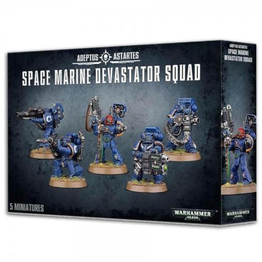 Warhammer Space Marine Devastator Squad