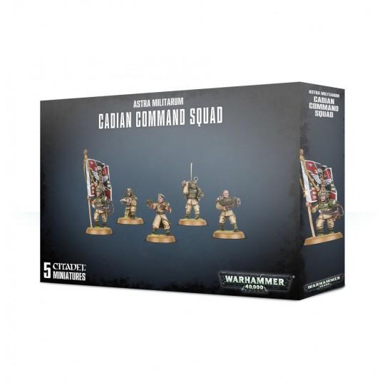 Warhammer Cadian Command Squad