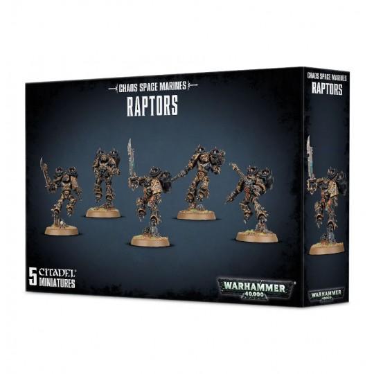 Warhammer Chaos Space Marines Raptors