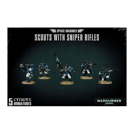 Warhammer Scouts with Sniper Rifles