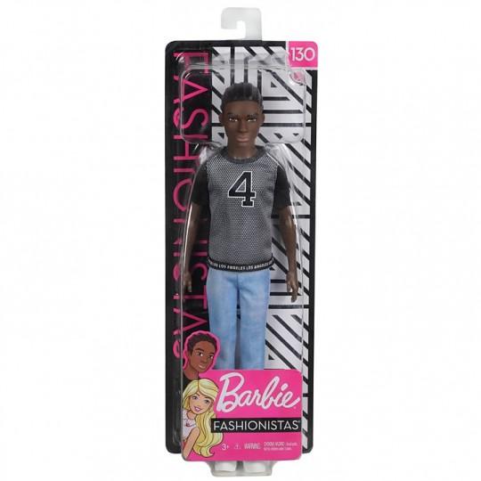 Ken Fashionistas - Net Jersey African American Doll