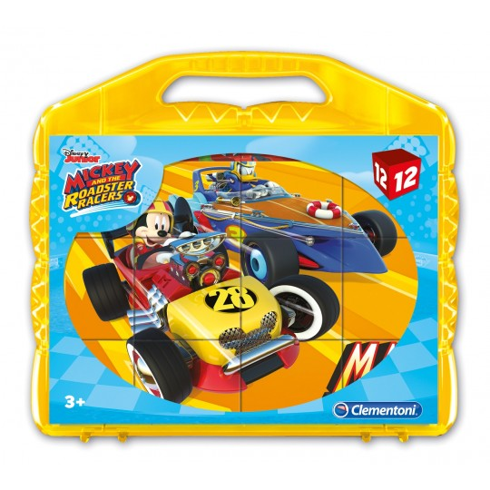 CLEMENTONI CUBES MICKEY & ROADSTERS RACERS