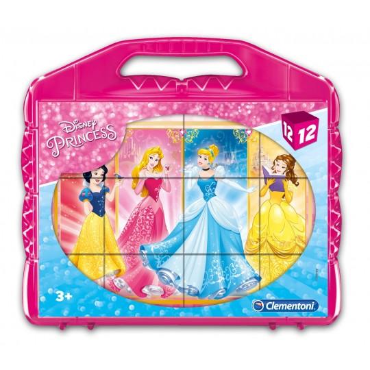 Clementoni 12 Cubes Disney Princess