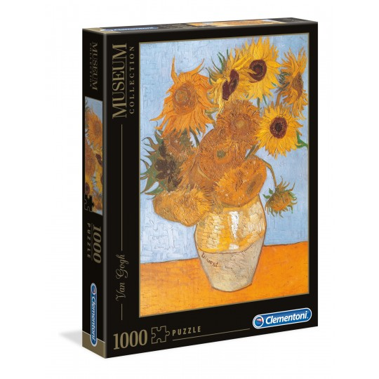 Clementoni Puzzle Museum Collection Van Gogh - Girasoli