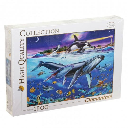 Clementoni Puzzle - Whales