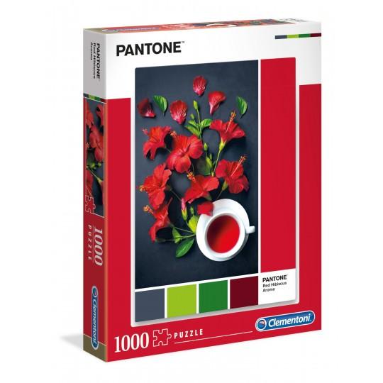 Clementoni Puzzle Red Hibiscus Aroma