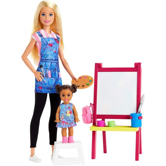 Barbie Art Teacher