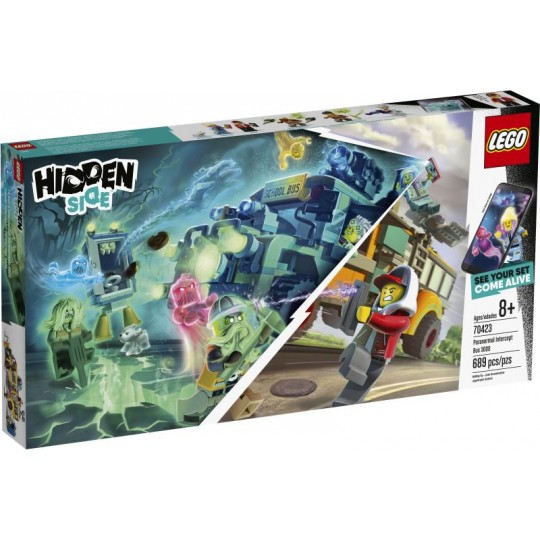 LEGO Hidden Side: Paranormal Intercept Bus 3000