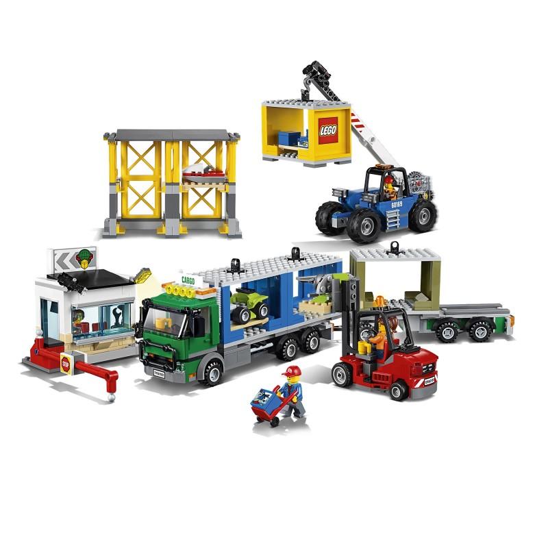 Lego Cargo Terminal