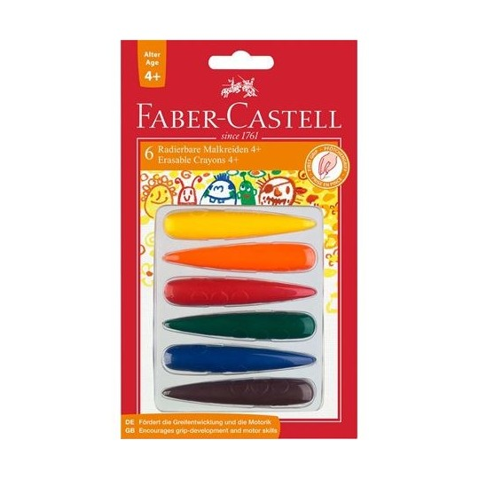 FABER-CASTELL 6 Crayons