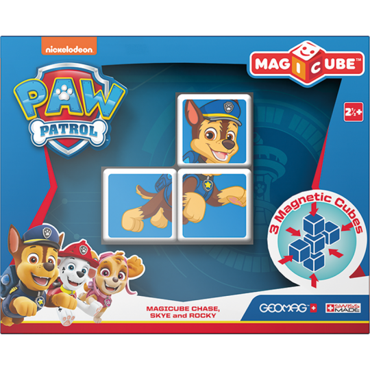Magicube PawPatrol - Chase, Skye and Rocky