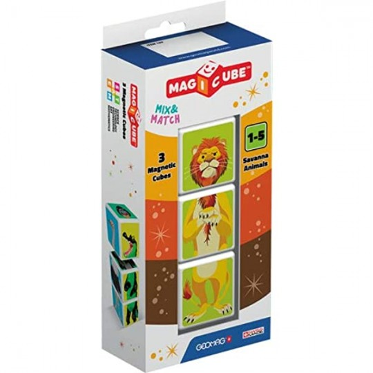Magicube Savanna Animals 3 cubes