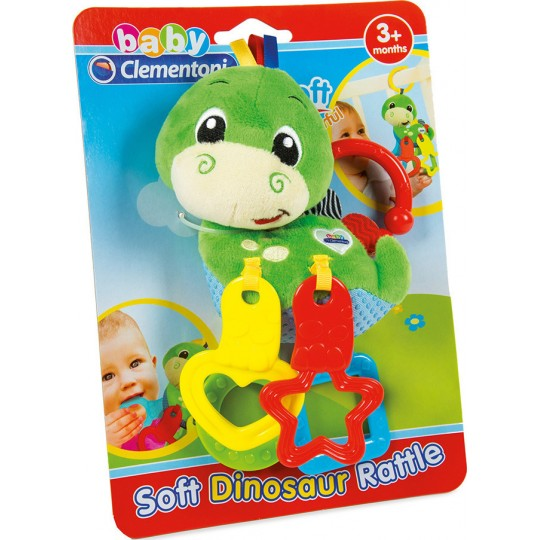 Dinosaur Plush Rattle