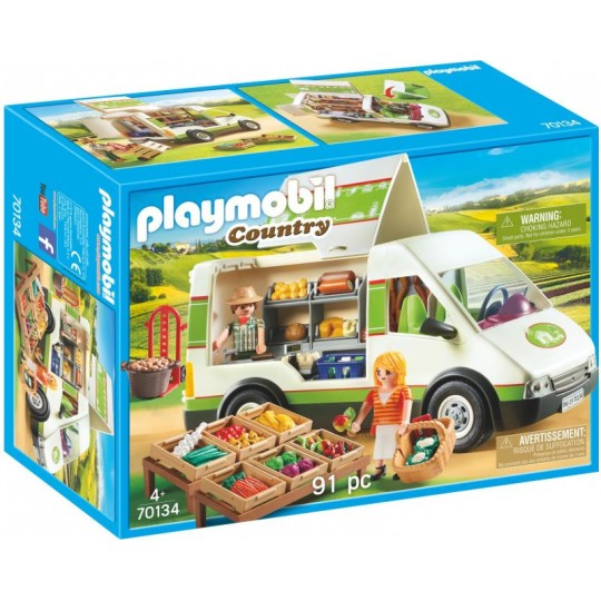 Playmobil Country Mobile Farm Market