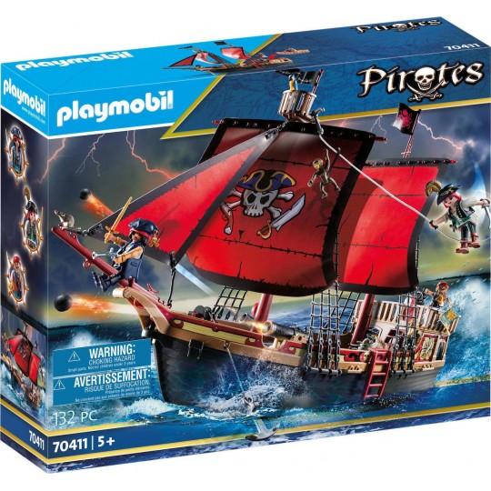 Playmobil Pirates Skull Pirate Ship