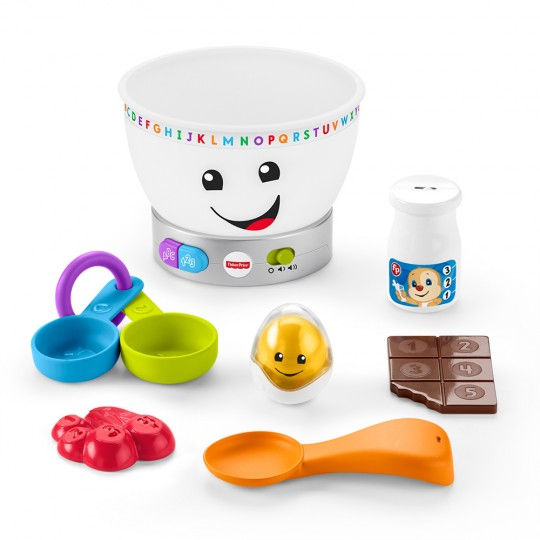 Fisher Price Laugh & Learn - Magic Color Mixing Bowl