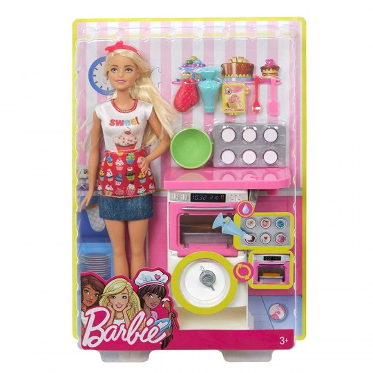 Mattel Barbie - Baker Playset