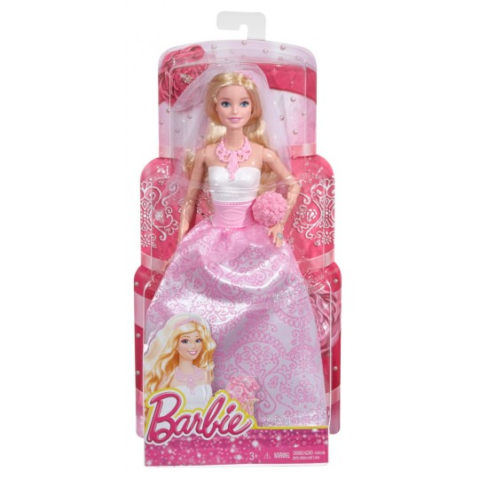 Mattel Barbie Doll Fairytale Bride