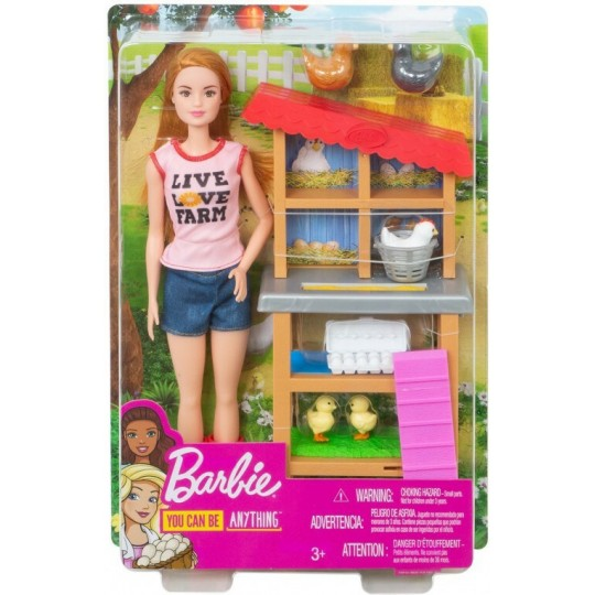 Mattel Barbie: You Can be Anything - Chicken Farmer