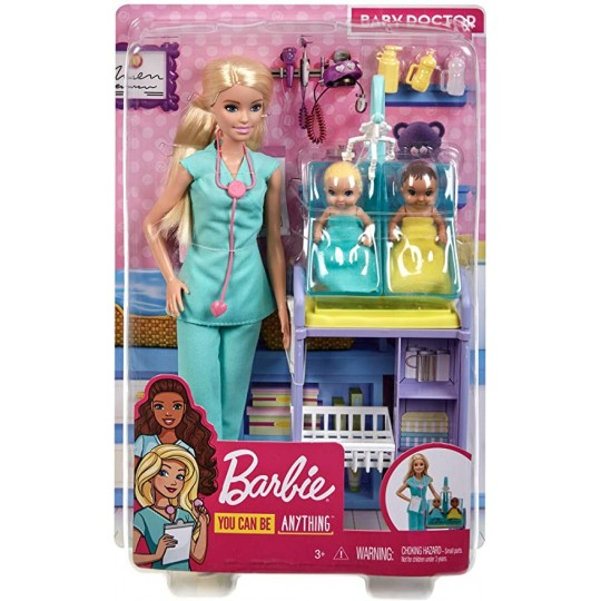 Mattel Barbie: You Can be Anything - Baby Doctor Doll