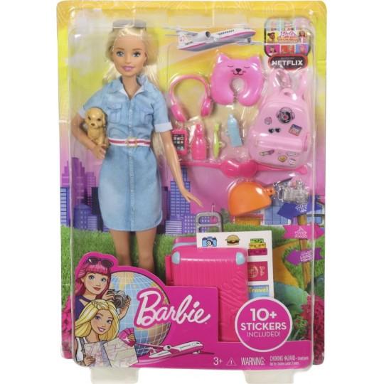Mattel Barbie Dreamhouse Adventures - Blonde Doll with Puppy