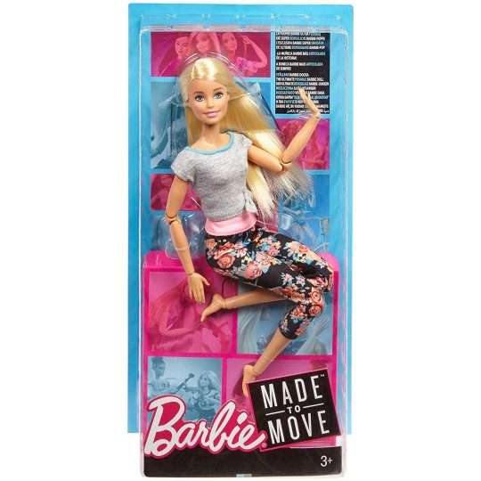 Mattel Barbie Made to Move - Blonde Hair Doll