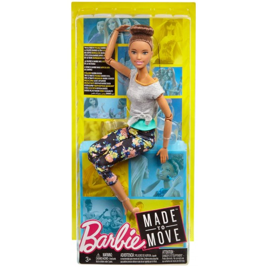 Mattel Barbie Made to Move - Brown Hair Doll