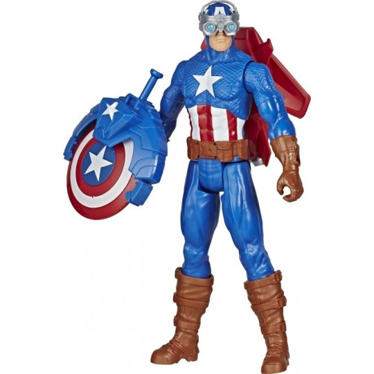 Hasbro Marvel Avengers Blast Gear: Titan Hero Series - Captain America