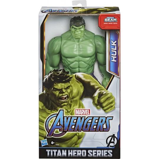 Hasbro Marvel Avengers Blast Gear: Titan Hero Series - Hulk Deluxe Action Figure
