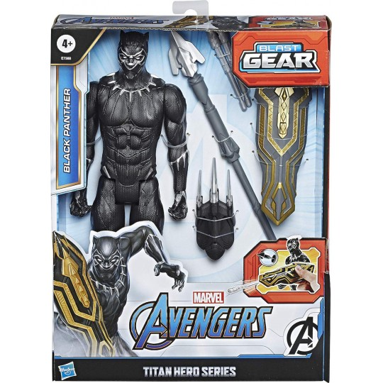 Hasbro Marvel Avengers Blast Gear: Titan Hero Series - Black Panther