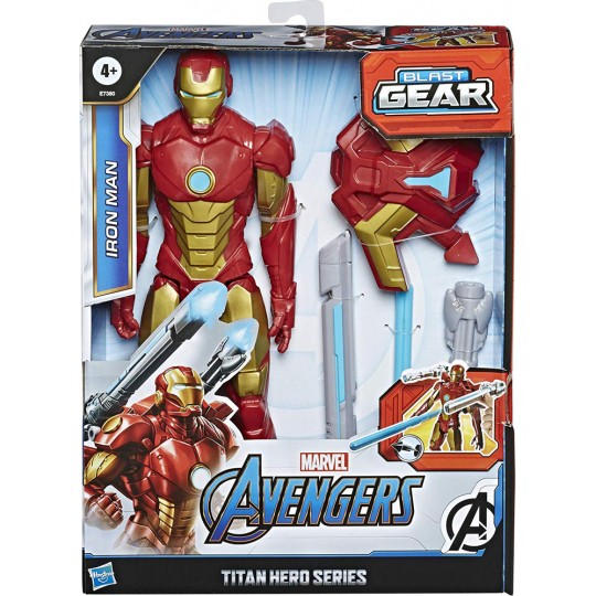 Hasbro Marvel Avengers Blast Gear: Titan Hero Series - Iron Man