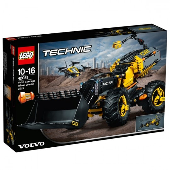 LEGO® Technic™: Volvo Concept Wheel Loader ZEUX