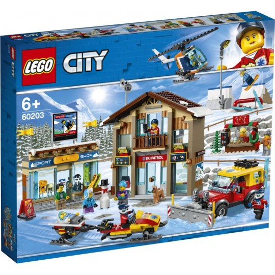 LEGO® City Town: Ski Resort