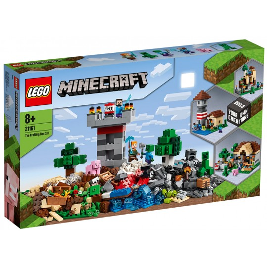 LEGO® Minecraft™: The Crafting Box 3.0