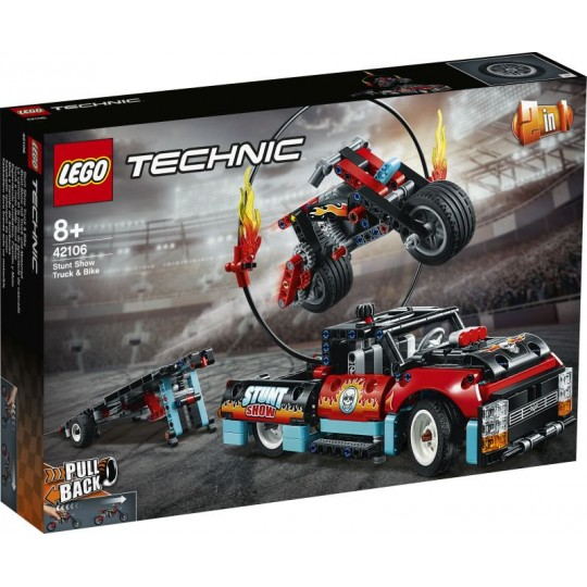 LEGO® Technic™: Stunt Show Truck & Bike