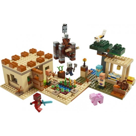 LEGO® Minecraft™: The Illager Raid