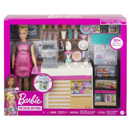 Mattel Barbie - Coffee Shop Playset