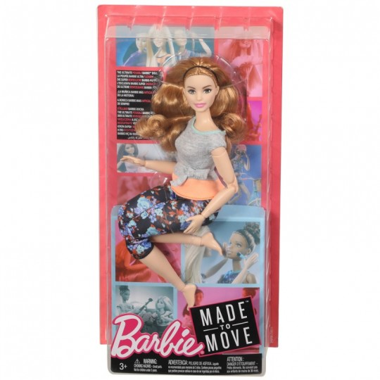 Mattel Barbie Made to Move - Curvy Doll