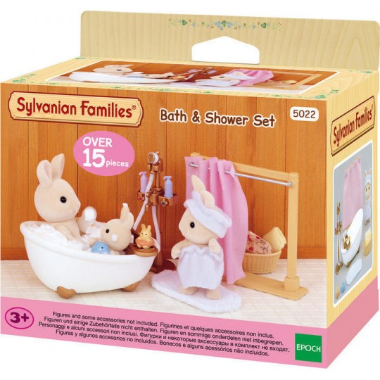 Sylvanian Families: Bath & Shower Set