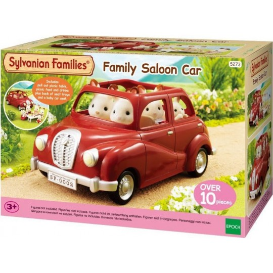 Sylvanian Families: Family Saloon Car & Table for Picnic