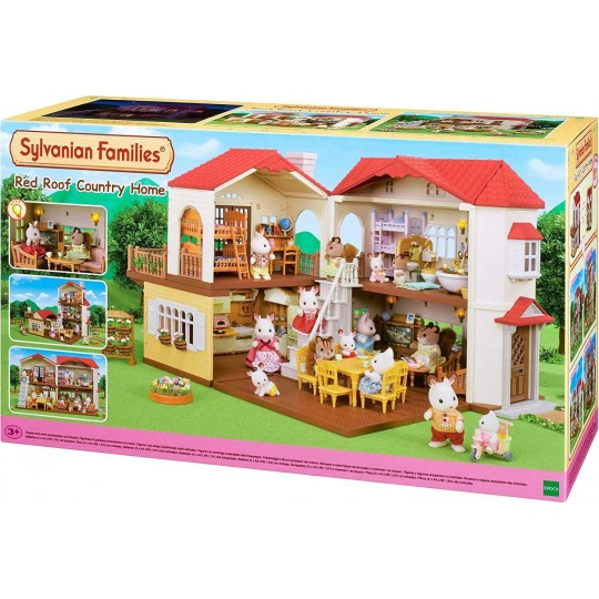 Sylvanian Families: Red Roof Country Home