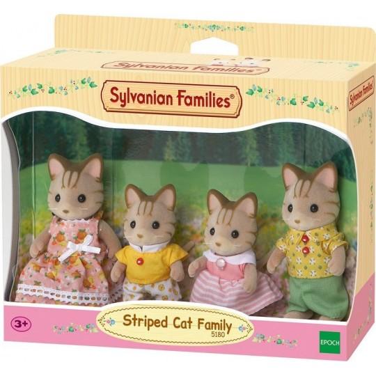 Sylvanian Families: Striped Cat Family