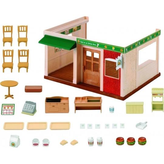 Sylvanian Families: Hamburger Restaurant