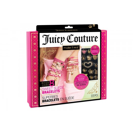 Make it Real - Juicy Couture: Sweet Suede Bracelets