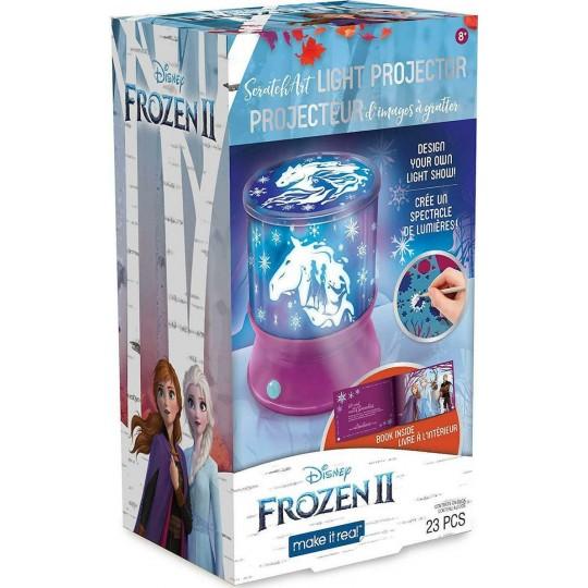 Make it Real - Disney Frozen II: Scratch Art Light Projector