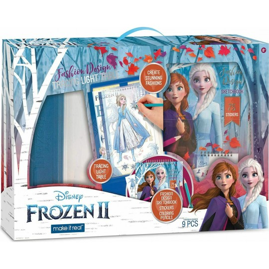 Make it Real - Disney Frozen II: Fashion Design Tracing Light Table