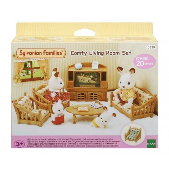 Sylvanian Families: Comfy Living Room Set